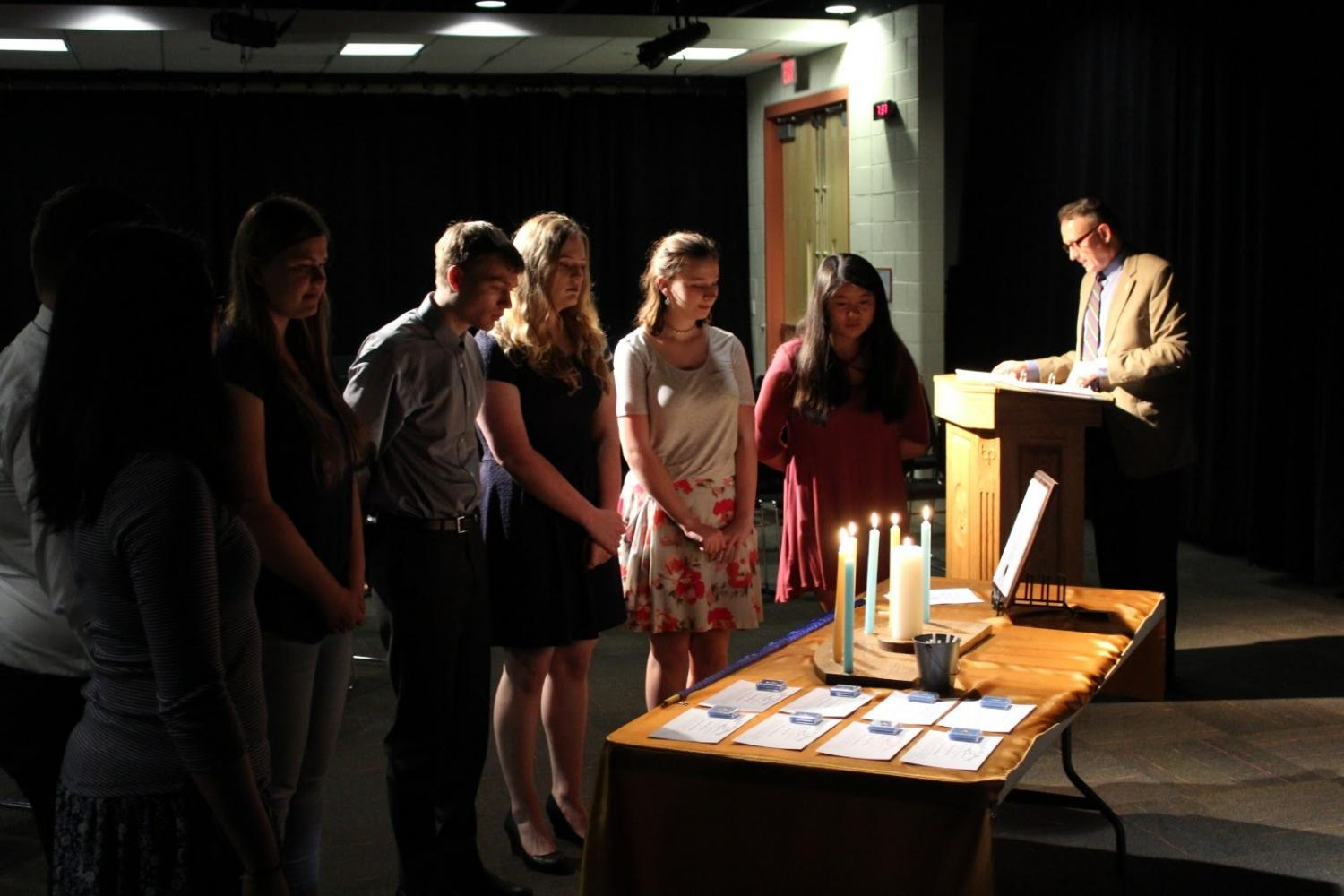 Eight students recognized for their work in journalism
