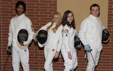 The Bethel Park High School Fencing Team