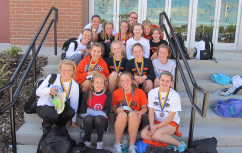 Girls Cross Country Team building a dynasty