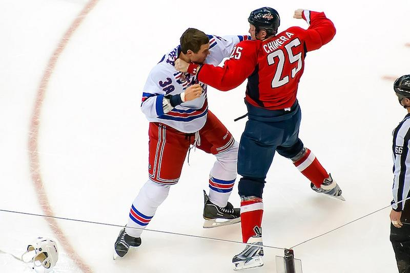 Fighting should be taken out of hockey