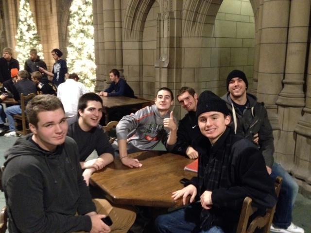Students tour Pitt's Nationality Rooms and Carnegie Museum of Art