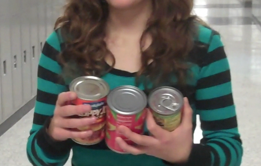 Cans being collected for SHIM