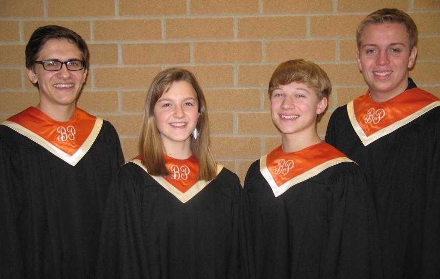 Four students qualify for PMEA All-State Chorus