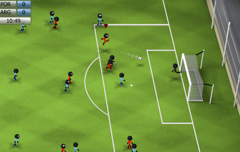 Mobile Game Reviews: Stickman Soccer 2014