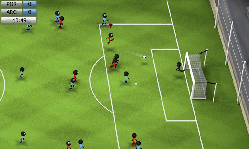 Mobile Game Reviews: Stickman Soccer 2014