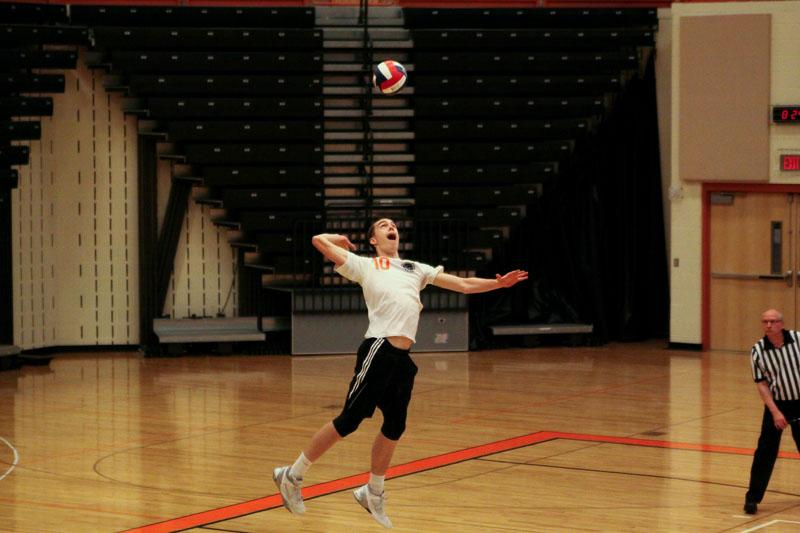 Varsity Boys Volleyball 10-0 in section play going into final two conference games