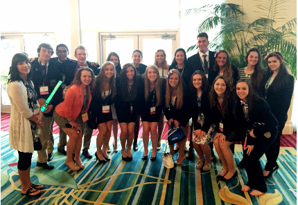 Two students place in Top 10 at DECA International Conference