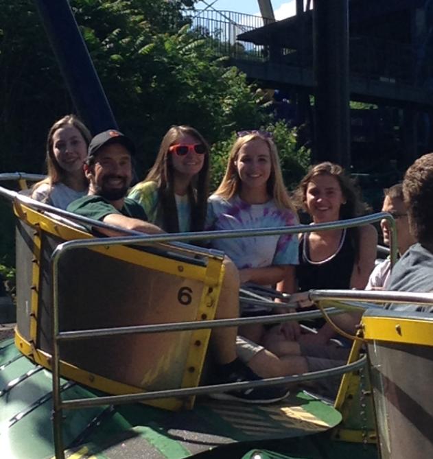 Physics students take on Kennywood