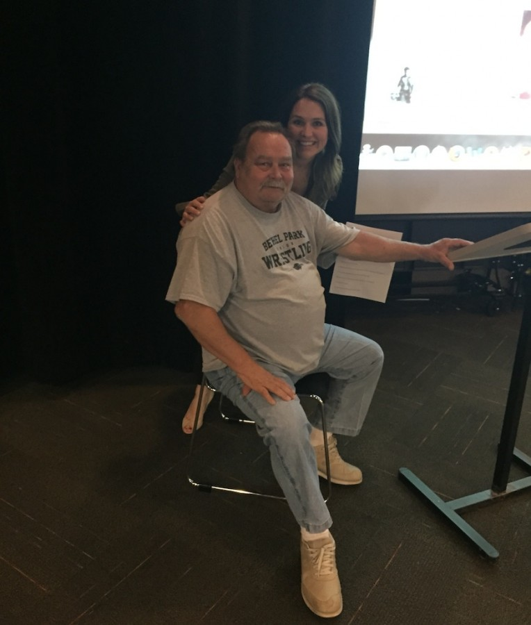 Vietnam War veteran talks to BPHS history classes