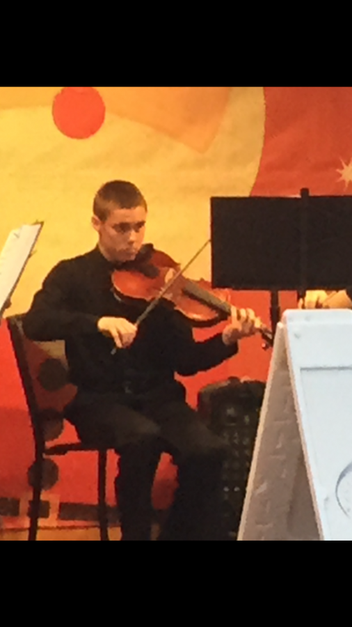 Student Musician of the Week: Preston Smith