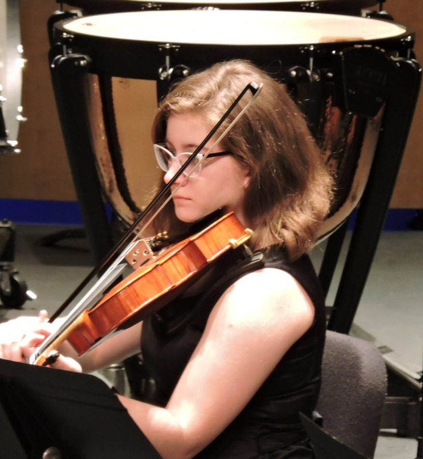 Grace Evans is this week's Student Musician of the Week.