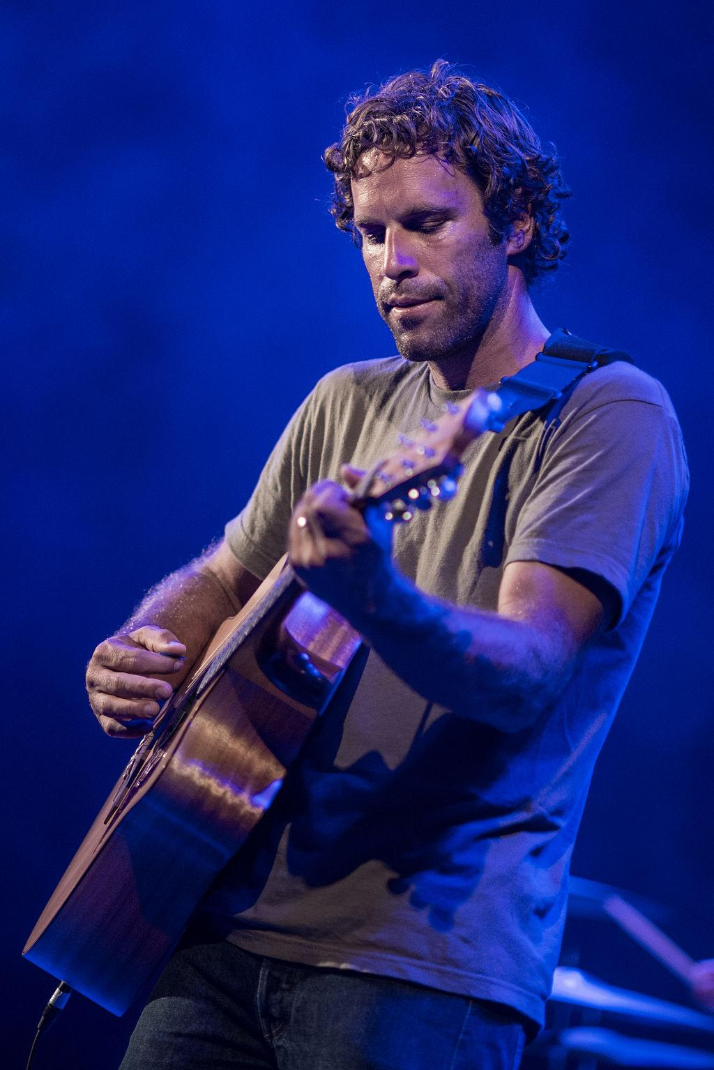 Jack Johnson performing at the Waikiki Shell in Honolulu Hawaii