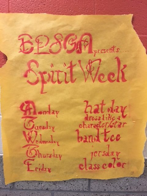 SGA presents Spirit Week