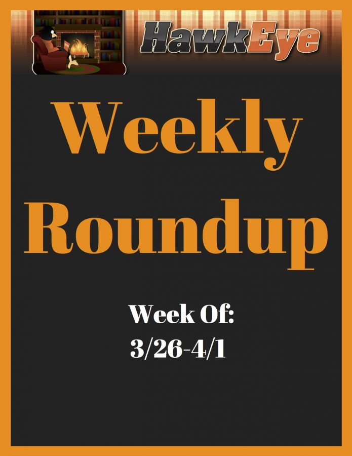 Weekly Roundup Issue 1 (3/26- 4/1)