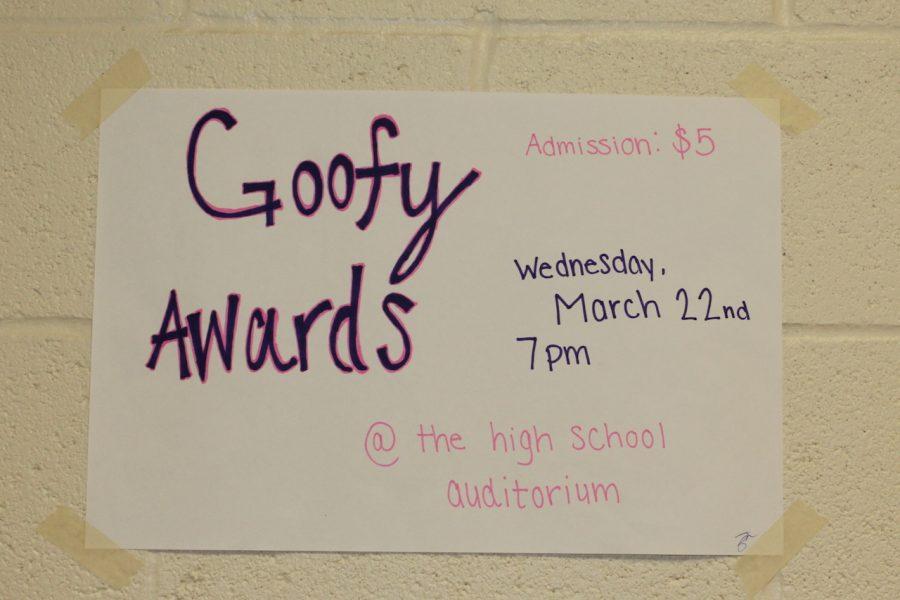 Awards to be 'goofy'