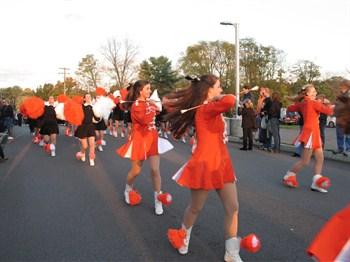 Drum Line, Bethettes and Majorettes perform Florida trip preview
