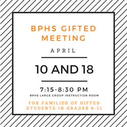 Parents invited to learn more about Gifted Program