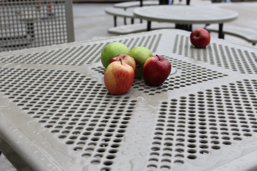 Mysterious apples under investigation