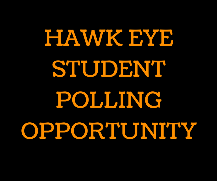 Participate in polling for a new Hawk Eye Article!