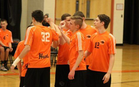 Photo Gallery: Boys' volleyball vs. Moon on 5/4