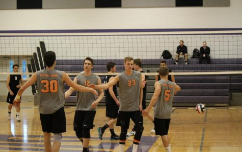Photo Gallery:  Boys' vball upends Seneca Valley to place 3rd in WPIAL