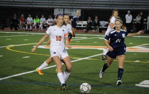 Lady Hawks soccer yields to Knights