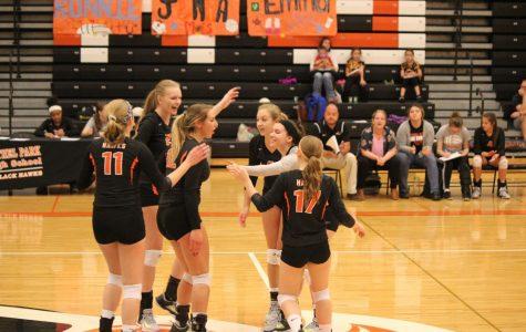 "Lady Hawks win ""big"" on Senior Night"