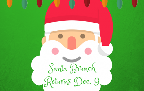 Get in the holiday spirit with brunch with Santa