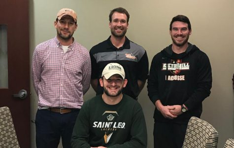 Gavin Campbell signs with St. Leo