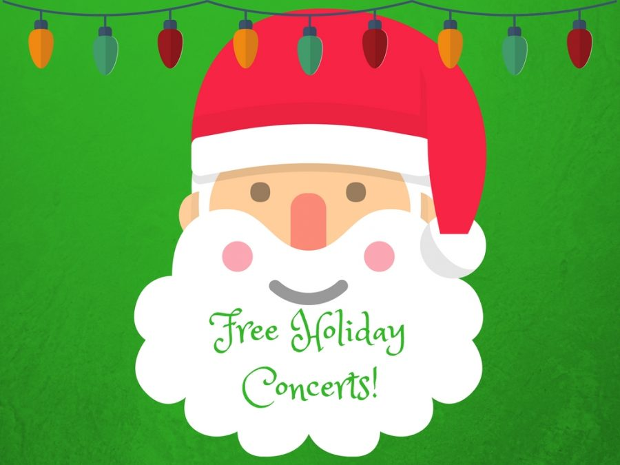 HOLIDAY CONCERTS!