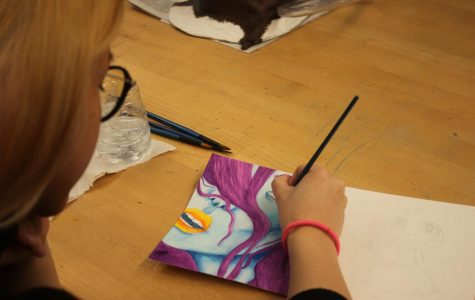 Student Art of the Week: Rachel Grant works with color theory