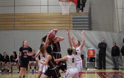 Lady Hawks attack the Highlanders