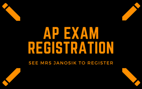 Register for the AP Exams today