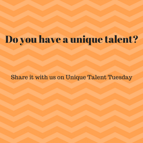 Unique Talent Tuesday: Hawk Eye wants your talent