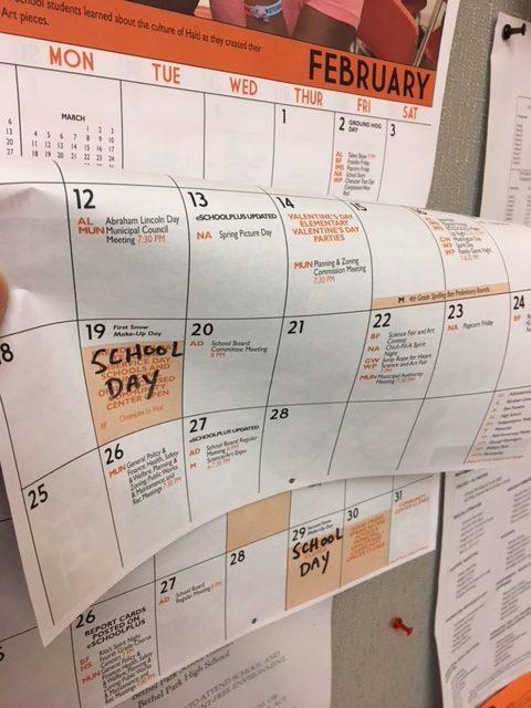 New calendar adds five more school days