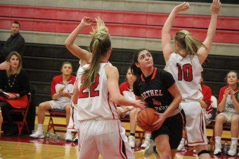 Lady Hawks come up short against Lady Indians