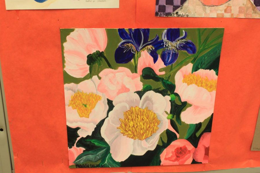 Student+Art+of+the+Week%3A+Maddie+Becker%27s+acrylic+flowers