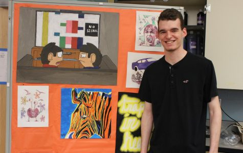 Student Art of the Week: Brendan Bailey's Zebra
