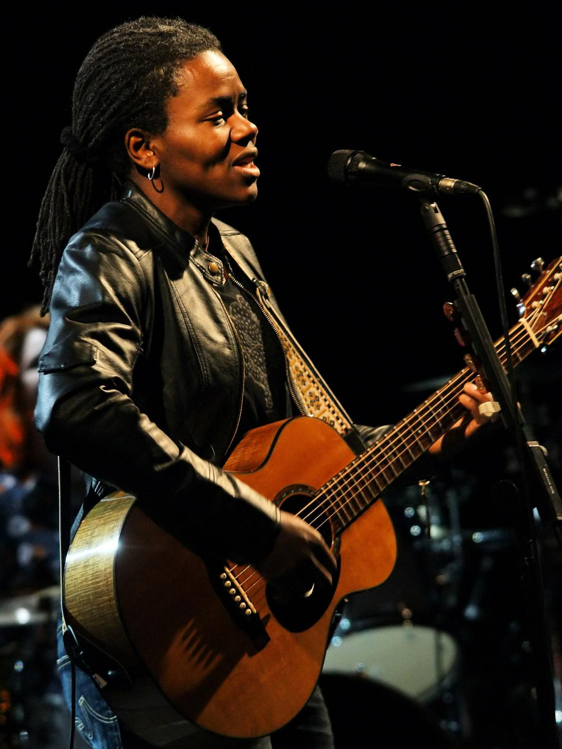 Tracy Chapman at the 2009 Cactus Festival in Bruges, Belgium.