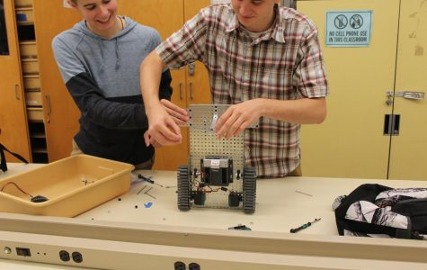 CIM students construct very own robots