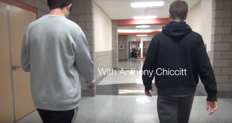 CASUALLY%2C+Anthony+Chiccitt+and+Ryan+Meis+walk+the+halls+of+BPHS.
