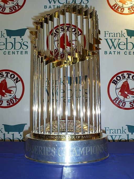%09%0AThe+2007+World+Series+Trophy+won+by+the+Boston+Red+Sox.