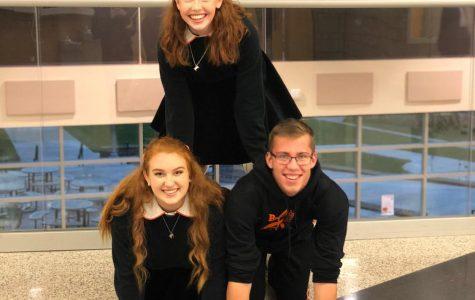 Lauren Wandel (bottom left) is this week's Student of the Week.