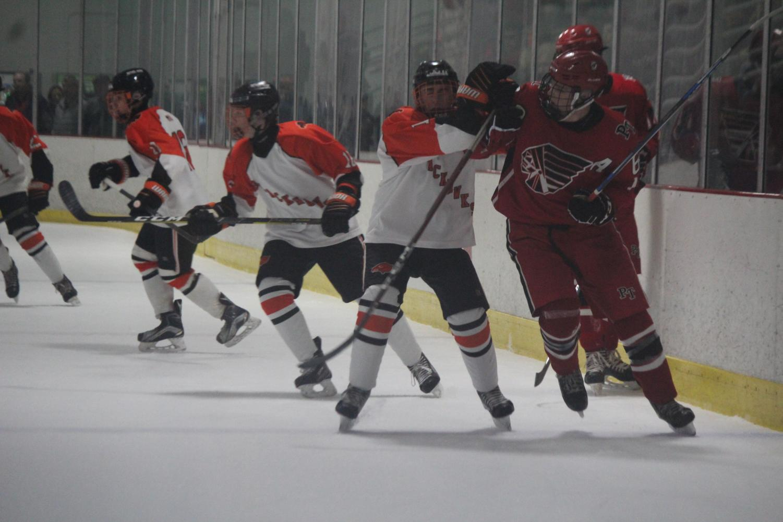 Hawks battle Peters on Dec. 6.