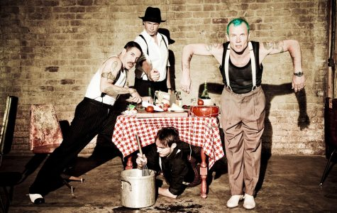 The American band Red Hot Chili Peppers.
