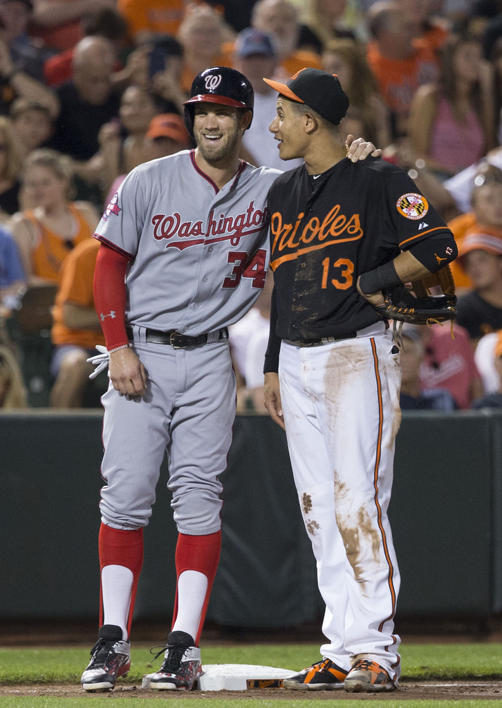 OF Bryce Harper and 3B/SS Manny Machado