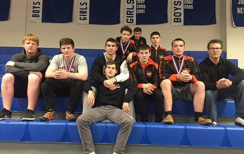 Five wrestlers head to WPIAL Championships