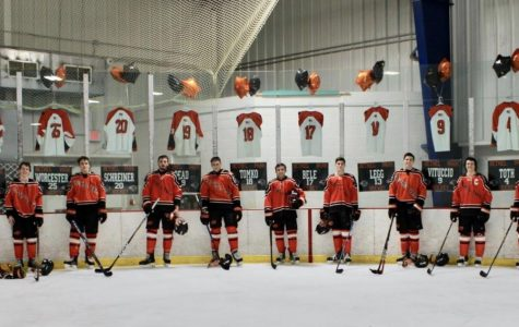 Hawks soar high on Senior Night