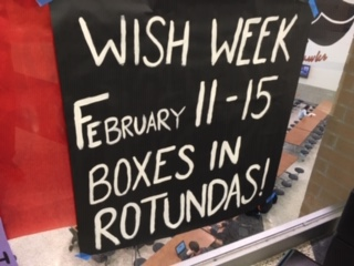 Wish Week begins Monday, Feb. 11 and continues through Friday, Feb. 15. Submit your wish today!