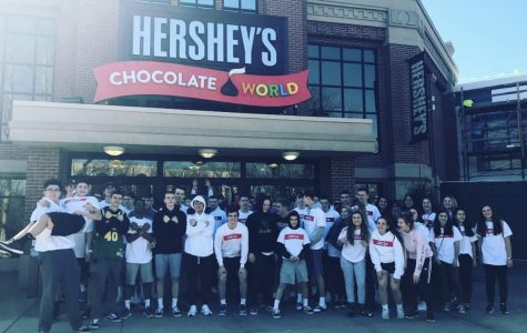 BP DECA students at Chocolate World at last year's State Conference.